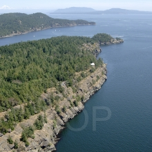 Trincomali, North Pender Island Aerial Photographs, British Columbia, Canada.