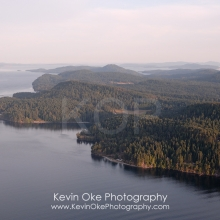 North Pender Island Aerial Photographs, British Columbia, Canada.
