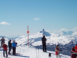 Whistler Mountain and Black Tusk, Whistler, British Columbia