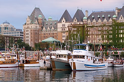 Victoria Harbour and the Empress Hotel, Victoria, British Columbia