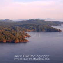 Stanley Point and Port Washington, North Pender Island Aerial Photographs, British Columbia, Canada.