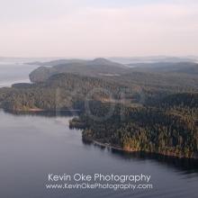 North Pender Island Aerial Photographs, British Columbia, Canada.