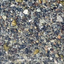 Abstract photo of rocks covered with water, Tent Island, Gulf Islands, British Columbia, Canada